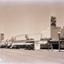 Image of Wilshire Boulevard Between Euclid Street and 14th Street, 1940 - 1940/04/15