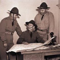 Image of State Guard Men Review Map, 1941 - 1941/07/14