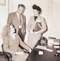 Image of Frances Farmer Following Arrest for Probation Violation, 1943 - 1943/01/13