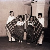 Image of Dancers Rehearse for Club Latino Juvenil Dance, 1941 - 1941/06/05