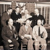 Image of Mayor Welcomes Naval Guard, 1941 - 1941/08/01