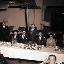 Image of Jewish Community Center Founders Dinner at the Deauville Club, 1945 - 1945/02/25