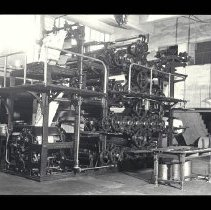 Image of Outlook Newspaper Printing Press in Production, 1935 - 1935/04/01