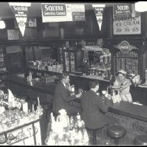 Image of Soda Fountain Service at Criterion Drug Company - 1936/09/01