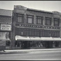 Image of Montgomery Ward Store - 1936/11/06