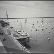 Image of Santa Monica Yacht Harbor, 1936 - 1936/11/12