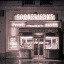 Image of Goodfriend's Jewelry Store, 1940 - 1940/01/10