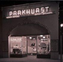 Image of Parkhurst Appliance Company, 1940 - 1940/01/16