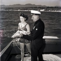 Image of Woman Appointed Santa Monica Lifeguard, 1943 - 1943/05/21