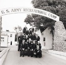 Image of Sailors at the U.S. Army Recreational Camp, 1944 - 1944/04/26