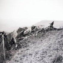 Image of Navy Plane Crash Near Riviera Country Club, 1936 - 1936/04/24