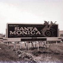Image of Santa Monica Billboard, 1959 - 1959/04/05
