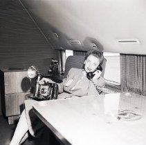 Image of The Interior of President Truman's Plane, 1947 - 1947/06/02