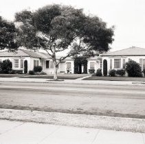 Image of Houses on 20th Street, 1948 - 1948/08/04