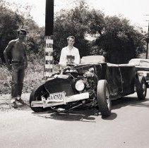 Image of Crashed Hot Rod, 1948 - 1948/08/04