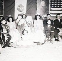 Image of Fiesta Queen at Garfield School, 1947 - 1947/09/15