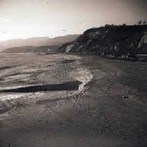 Image of Seagulls at Santa Monica Beach, 1948 - 1948/01/22