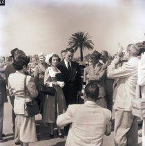 Image of Joan Bennett at Wanger Trial, 1952 - 1952/04/22