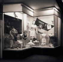 Image of Cole's Sport Shop Display Window, 1950 - 1950/07/15