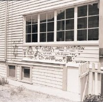 Image of Graffiti on a Home, 1946 - 1946/08/06