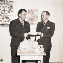 Image of Douglas Company Refugee Relief Donation, 1940 - 1940/05/22