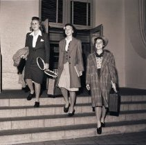 Image of Junior Tennis Stars Leave for Mexico, 1940 - 1940/12/11