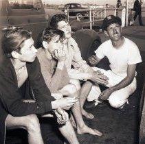 Image of Boys Escape Target Barge, 1942 - 1942/04/26