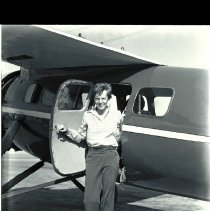 Image of Amelia Earhart at Clover Field,1936  - 1936/08/05