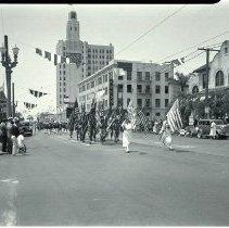 Image of Memorial Day Parade in Santa Monica,1935 Memorial Day Parade in Santa Monica, 1935 - 1935/05/30