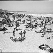 Image of Santa Monica Beach -1937 - 1937/04/17