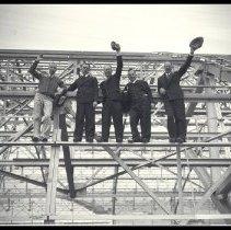Image of Airplane Hangar Construction Site, Douglas Aircraft Company - 1936/04/15