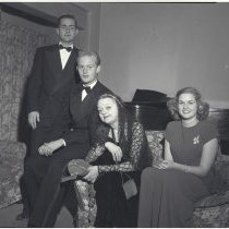 Image of Mrs. Philip Hill and Family - 1947/12/08
