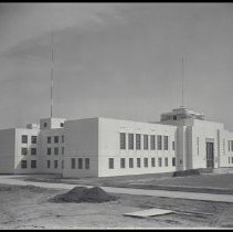 Image of Construction of Santa Monica City Hall, 1939 - 1939/10/02