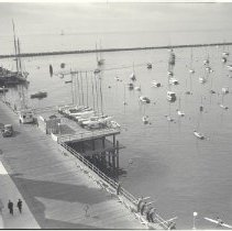 Image of Santa Monica Yacht Harbor - 1936/11/12