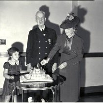 Image of School Principal A.C. Shafer's Birthday Celebration - 1939/05/19