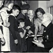Image of School Principal A.C. Shafer's Birthday Party - 1939/05/19