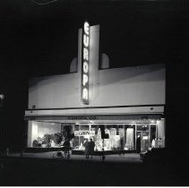 Image of Europa Company Store on Third Street, 1937 - 1937/01/27