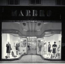 Image of The Marbro Shop on Third Street, 1940 - 1940/01/16