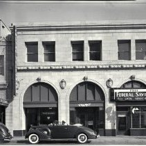 Image of First Federal Savings and Loan Association on Santa Monica Boulevard, 1939 - 1939/08/01