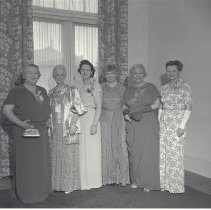 Image of Santa Monica Woman's Club Officers, 1948-9 - 1949/06/07