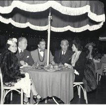 Image of Shriners Dining at the Miramar Hotel, 1941 - 1941/07/25