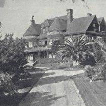 Image of Residence of John P. Jones, Co-founder of Santa Monica - undated