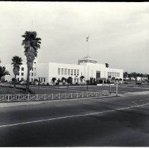 Image of Santa Monica City Hall Newly Built in 1939 - undated
