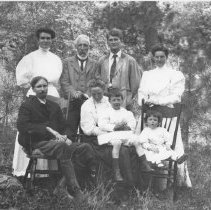 Image of Group Portrait in a Forest - undated