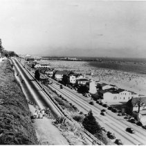 Image of California Incline and Pacific Coast Highway - undated