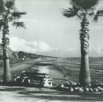 Image of Beach View from Lighthouse - undated