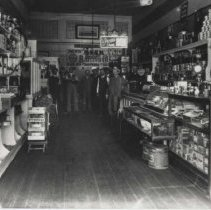Image of Saxman and Tegner Grocery Store at 256 Third Street - undated