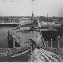 Image of Ocean Park Pier and Lick Pier - 1930s