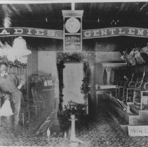 Image of Shoe Shine Shop - undated