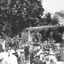 Image of Pioneer Days Parade Float - undated